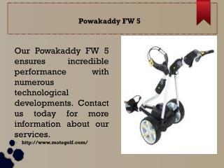 Powakaddy FW 5