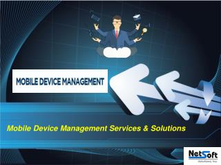 Mobile Device Management Services USA