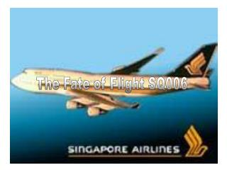 The Fate of Flight SQ006
