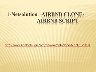 Airbnb Clone - Airbnb Script