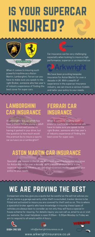 Supercar Insurance