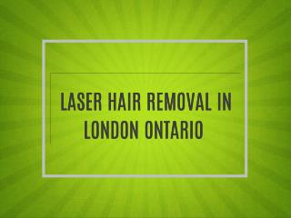 laser hair removal london ontario