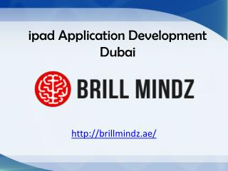 ipad application development Dubai