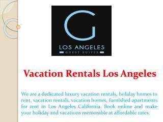 Vacation Rentals Los Angeles