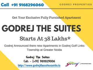 Godrej Golf Links Presenting Godrej The Suites Luxury Homes Greater Noida