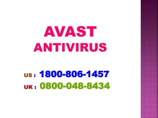 Be Acquainted with Avast Internet Security 0800-048-8434 Phone Number