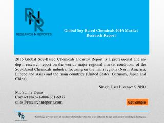 Global Soy-Based Chemicals Market Analysis (2012-2021)