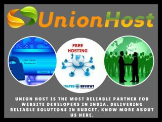 Linux Reseller Hosting - Union Host