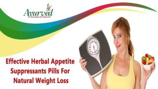 Effective Herbal Appetite Suppressants Pills For Natural Weight Loss