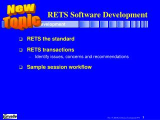 RETS Software Development