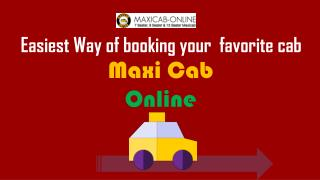 Maxi Cab & Mini bus Services