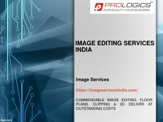 Image Editing Services India