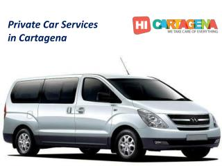 Private car service in cartagena