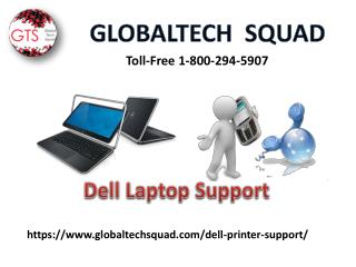 Dell Laptop Support | Toll Free 1-800-294-5907