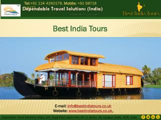 Best Tour Planners for India