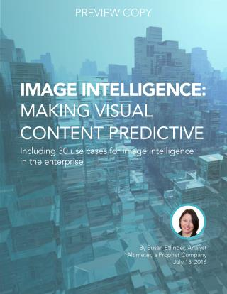 [NEW RESEARCH] Image Intelligence: making Visual Content Predictive