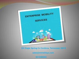 Overcome Business Challenges with Enterprise Mobility Services