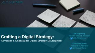 Crafting a Digital Strategy