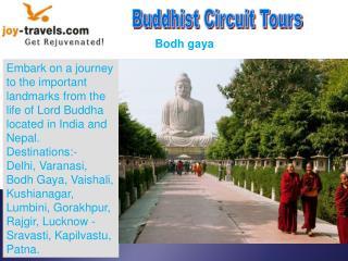 Buddhist Circuit Tour India or Nepal