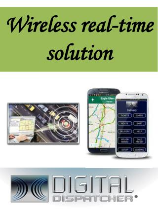 Wireless real-time solution