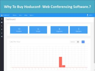 Why To Buy Hoduconf- Web Conferencing Software.?