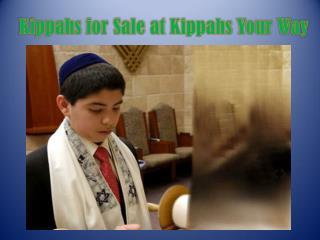 Kippahs for Sale at Kippahs Your Way