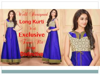 Designer Long Kurtis Designs: Party Wear Pakistani Long Kurtis Latest Patterns | DESIGNERS AND YOU