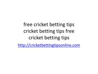 ipl bettibg tips