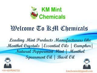 Essentials Oils Manufacturers