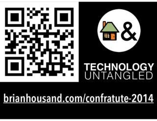 Confratute 14 Tech Untangled DAY ONE