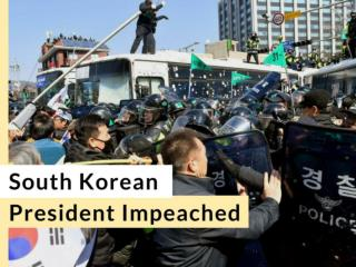South Korean president impeached