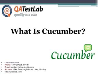 What Is Cucumber?