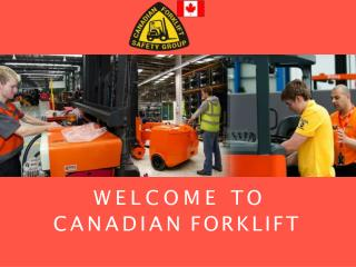 Forklift Training | Working at Height Training Mississauga
