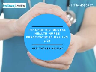 Reasons Why Psychiatric Nurse Mailing Lists Is Getting More Popular