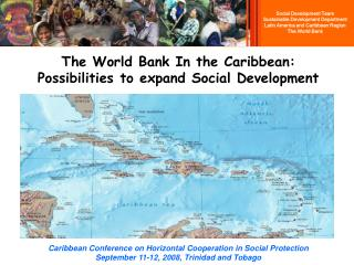 The World Bank In the Caribbean: Possibilities to expand Social Development