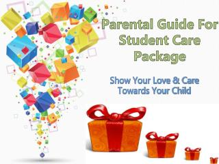 Parental Guide For Student Care Package