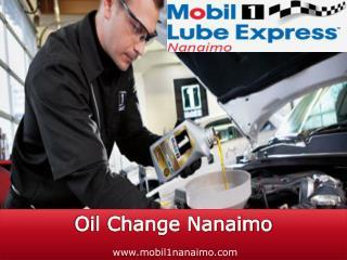 Oil Change Nanaimo