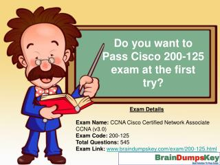 Latest Cisco 200-125 Exam Study Guide and Exam Dumps