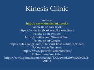 An Effective Treatment for Achilles Heel Pain at Kinesis Clinic