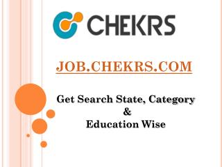 Govt. Jobs, (Jobs.Checks.com)