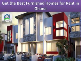 Why Ghana is an ideal Place to Rent a House