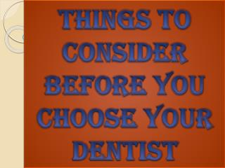 Choose the Best Dentist Services in Vancity