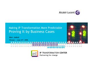 Making IP Transformation More Predictable (2008)