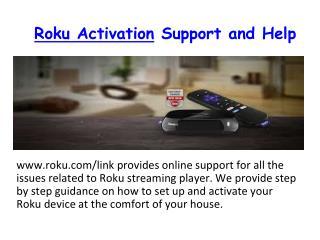 Easy steps for activate Roku.Com/Link & Enter Roku Code