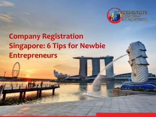 Company Registration Singapore: 6 Tips for Newbie Entrepreneurs