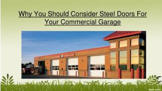 5 Habits To Choose Best Commercial Garage Doors