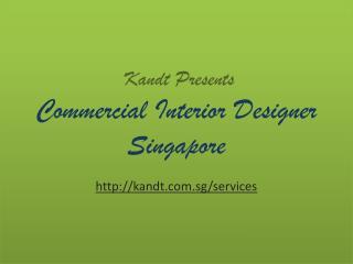 Commercial Interior Designer Singapore