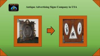 Best Antique Advertising Sale Company in USA