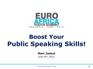 Boost Your Public Speaking Skills (2012)