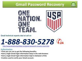 24/7 Hour? Whereby do I access Gmail Password Recovery@1-888-830-5278?
